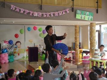 1120台南生日派對魔術小丑氣球表演+黃色小鴨人偶 (5)